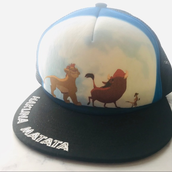 6edc81527 Disney Lion King Snap Back Simba hakuna matata hat